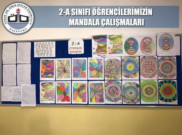 2 A Sinifi Ogrencilerinin Mandala Calismalari Prof Dr Omer